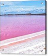 The Pink Diagonal Acrylic Print