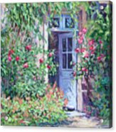 The Pink House Acrylic Print
