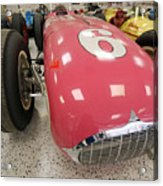 The Pink Zink 1955 Indy 500 Winner Acrylic Print