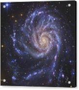 The Pinwheel Galaxy, Also Known As Ngc Acrylic Print