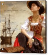 The Pirate Queen Acrylic Print