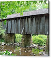 The Pisgah Covered Bridge Acrylic Print
