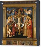 The Pistoia Santa Trinita Altarpiece Acrylic Print