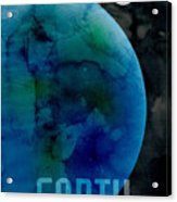 The Planet Earth Acrylic Print by Michael Tompsett
