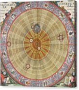 The Planisphere Of Copernicus Harmonia Acrylic Print