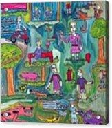 The Playground Acrylic Print