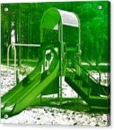 The Playground II - Ocean County Park Acrylic Print