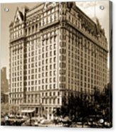 The Plaza Hotel Acrylic Print