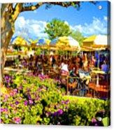 The Plaza Magic Kingdom Walt Disney World Acrylic Print