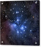 The Pleiades, Also Known As The Seven Acrylic Print by Roth Ritter
