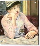 The Plum Acrylic Print by Edouard Manet
