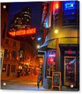 The Point Marshall Street Boston Ma Acrylic Print