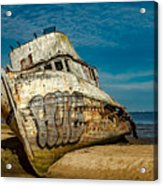 The Point Reyes Beached Acrylic Print