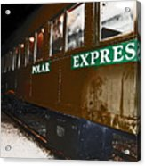 The Polar Express Acrylic Print