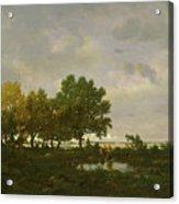 The Pond, La Mare Acrylic Print