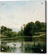 The Ponds Of Gylieu Acrylic Print