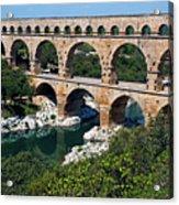 The Pont Du Gard Acrylic Print