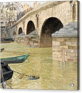 The Pont Marie. Paris Acrylic Print