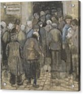 The Poor And Money The Hague, September - October 1882 Vincent Van Gogh 1853  1890 Acrylic Print