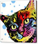 The Pop Cat Acrylic Print by Dean Russo