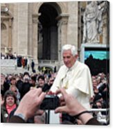 The Pope Acrylic Print