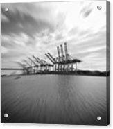 The Port Of Los Angeles Acrylic Print