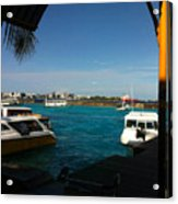 The Port Of Maldives  Acrylic Print