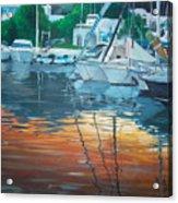 The Port Acrylic Print