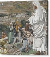 The Possessed Boy At The Foot Of Mount Tabor Acrylic Print