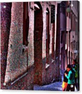The Post Alley Gum Wall Acrylic Print