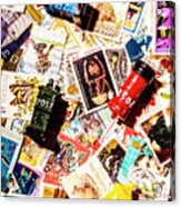 The Postbox Collector Acrylic Print