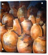 The Pottery Acrylic Print
