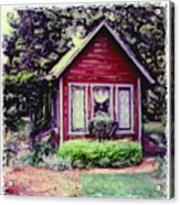 The Potting Shed Acrylic Print