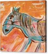 The Power Horse Acrylic Print