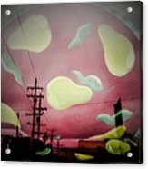 The Power Of Pear Acrylic Print