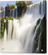 The Power Of Water Acrylic Print