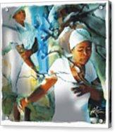 The Prayer Tree Haiti Acrylic Print