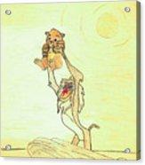 The Presentation Of Simba From Walt Disney's The Lion King Acrylic Print