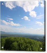 The Presidential Range From Mount Prospect Acrylic Print