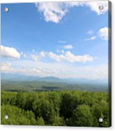 The Presidential Range From The Watchtower At Weeks State Park Acrylic Print