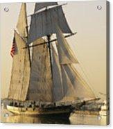 The Pride Of Baltimore Clipper Ship Acrylic Print