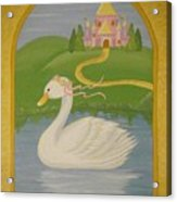The Princess Swan Acrylic Print