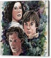 The Princess, The Knight And The Scoundrel Acrylic Print