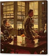 The Prodigal Son In Modern Life  The Departure Acrylic Print