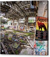 The Prodigy In Berlin Acrylic Print