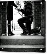 The Proposal Acrylic Print