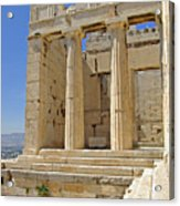 The Propylaia In Athens          The Propylaia - Vertical                                    Acrylic Print