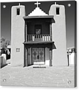 The Pueblo Church Acrylic Print