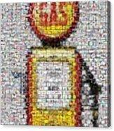 The Pump Mosaic Acrylic Print