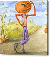 The Pumpkinhead Acrylic Print